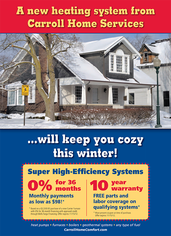 Carroll Home Services Griffith No Worry Heating System