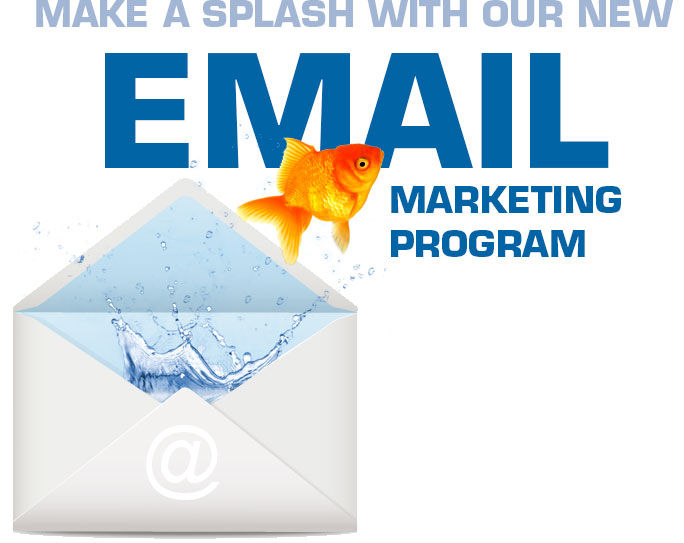 Make a Splash with Our New Email Marketing Program