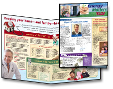 Warm Thoughts newsletters improve customer relations and add company value.