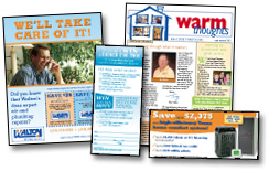 Warm Thoughts newsletters are fully customizable.